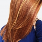 highlights bright golden blonde auburn